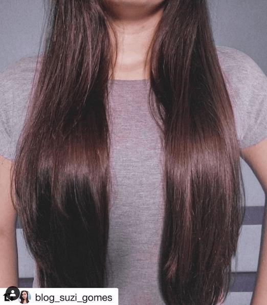 Resultado vitamina Eleve Hair