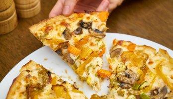 fatia de pizza metas saudaveis